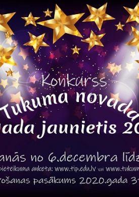 """Konkurss """"Tukuma novada gada jaunietis 2019"""""""
